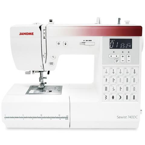 Janome 740DC Sewing Machine with Bonus Bundle