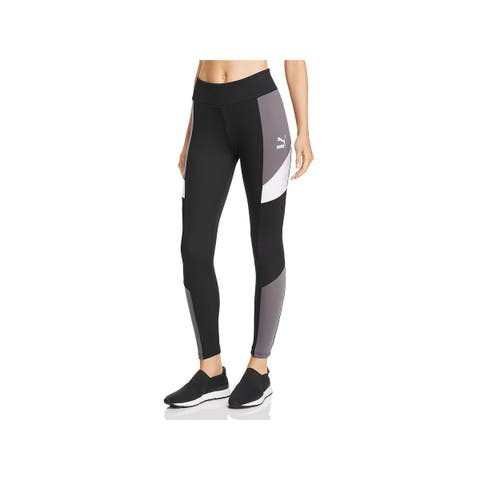 Puma Womens Athletic Leggings Yoga Fitness