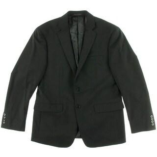 Calvin Klein Mens Wool Extra Slim Fit Suit Jacket