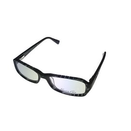 Kenneth Cole New York Mens Opthalmic Frame Black Plastic Rectangle KC191 03 - Medium