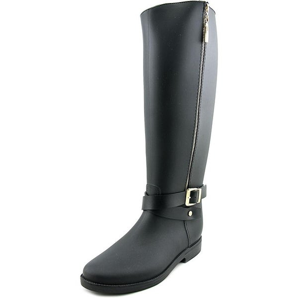 Dirty Laundry Reckless Women  Round Toe Synthetic Black Rain Boot