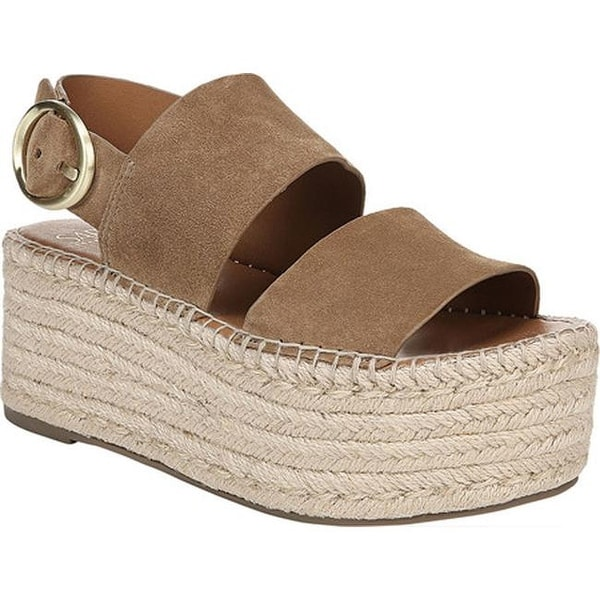 5ea2bbe2a28a Sarto by Franco Sarto Women  x27 s Mariana Espadrille Sandal Toasted Barley  Lux Brushed