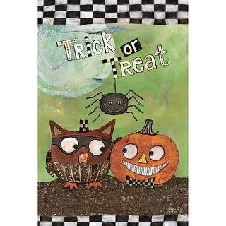 Trick Or Treat Mini Garden Flag, Gardens by Lang Companies