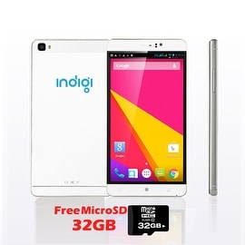 "Indigi® 6.0"" Factory Unlocked 3G Smartphone Android 5.1 SmartPhone WiFi Bluetooth + 32gb microSD Included"