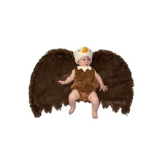 Swaddle Wings Bald Eagle Infant Costume 0-3 Months - Brown