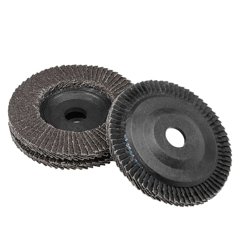 4 Inch Flap Disc 60 Grits Grinding Wheels Sanding Discs Abrasive Papers 3 Pcs