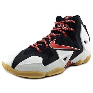Nike Lebron XI Men Round Toe Synthetic Multi Color Basketball Shoe