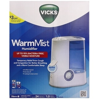 Kaz Inc - V750 - Vicks Warm Mist Humidifier