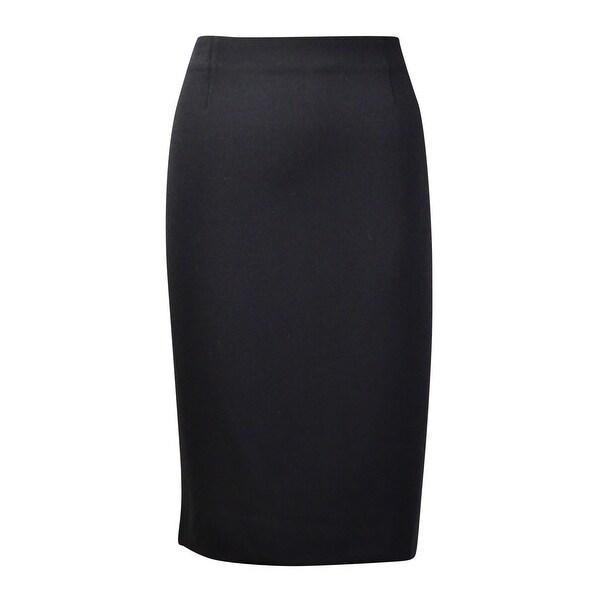 Charter Club Women's Basic Woven Pencil Skirt