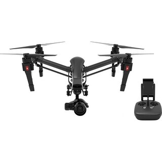 DJI Inspire 1 v2.0 PRO Black Edition Quadcopter with Zenmuse X5 4K Camera and 3-Axis Gimbal (Open Box)