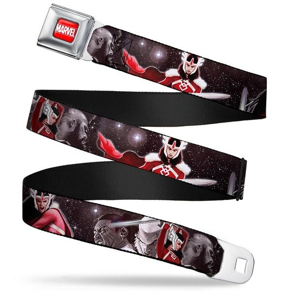 Marvel Universe Marvel Full Color Red White Sif Journey Into Mystery Cover Seatbelt Belt