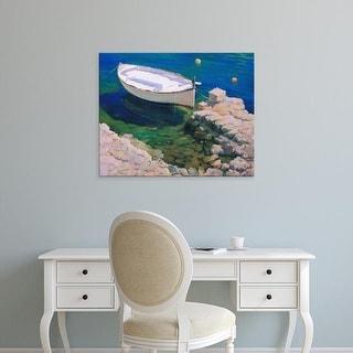 Easy Art Prints Alex Hook Krioutchkov's 'Boat' Premium Canvas Art