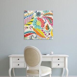 Easy Art Prints Wild Apple Portfolio's 'Boho Paisley I' Premium Canvas Art