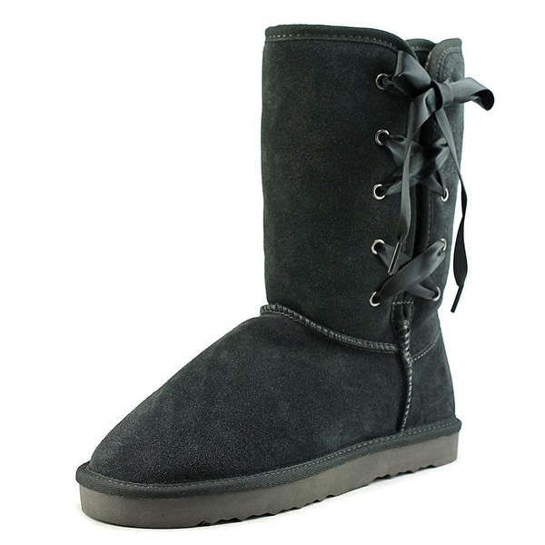 Style & Co. Womens Aliciah Leather Closed Toe Mid-Calf Fashion Boots - 11