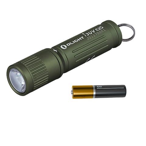 Olight I3UV EOS 395nm UV Blacklight AAA Keychain Light