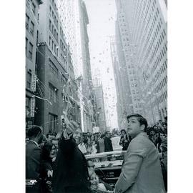 Tom Seaver 1969 Ticker Tape Parade 8X10