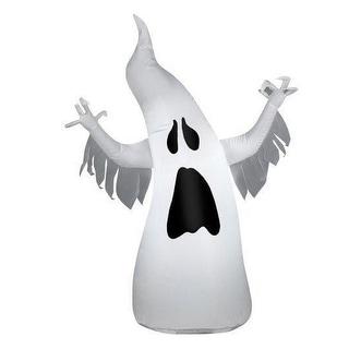 Gemmy 64978 Halloween Airblown Draped Ghost