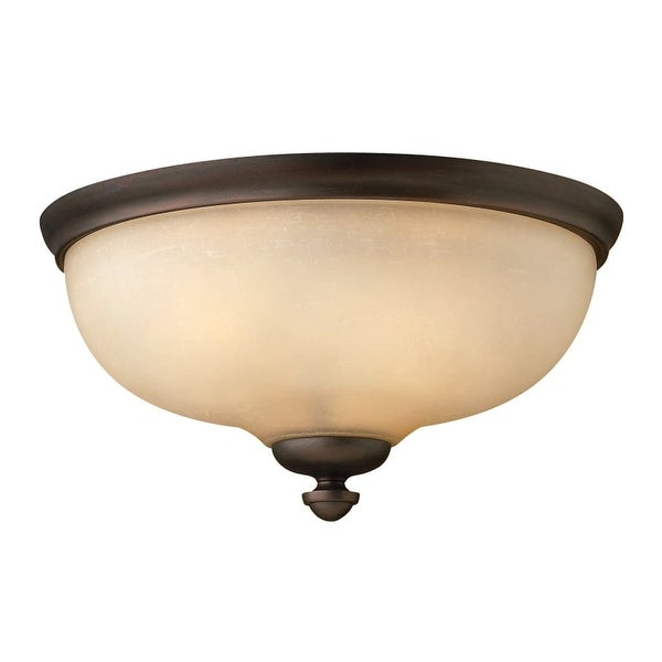 Hinkley Lighting 4171 3 Light Indoor Flush Mount Ceiling Fixture from the Thistledown Collection
