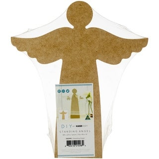 "Kaisercraft Beyond The Page Mdf Standing Angel-7.25""X8.25""X.5"""