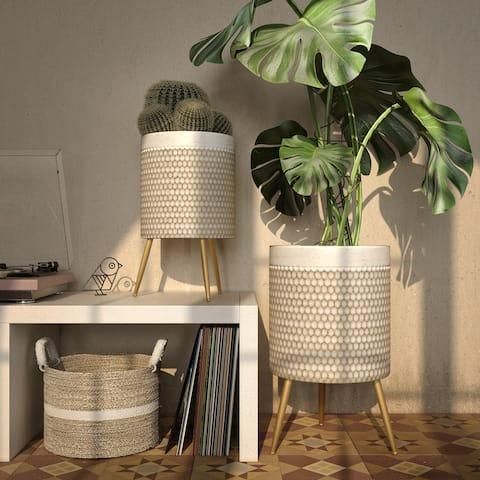 Jessa Modern Planters (Set of 2)