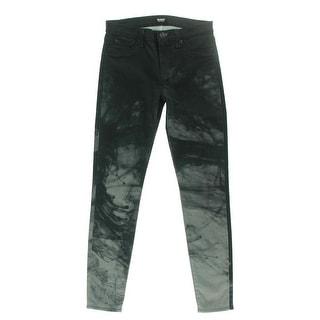 Hudson Womens Nico Denim Mid-Rise Skinny Jeans - 28