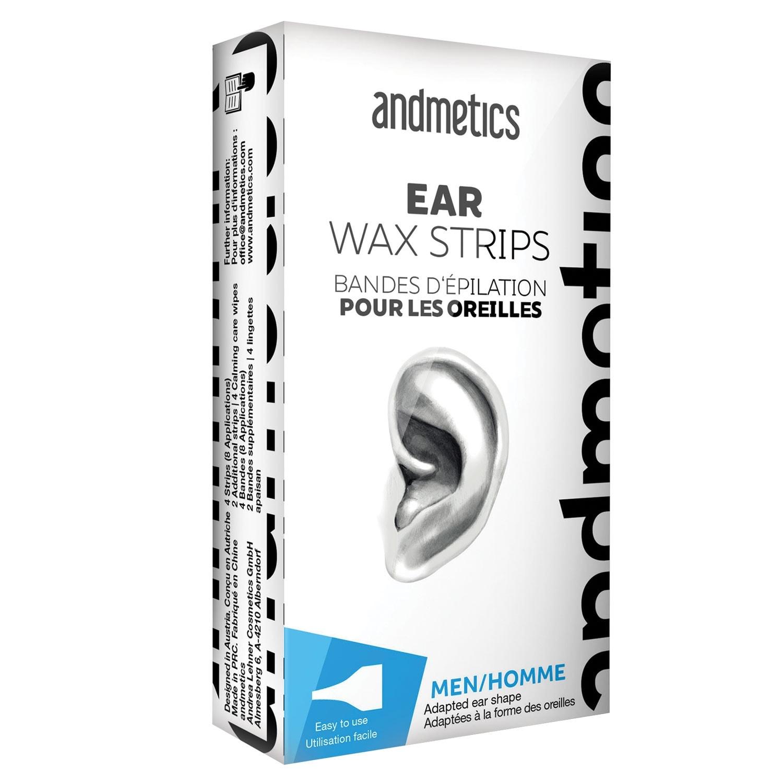 Shop Andmetics Depilatory Strips For Men S Ears Hair Removal Wax