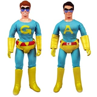 """Saturday Night Live Ambiguously Gay Duo 8"""" Action Figure Set of 2: Ace & Gary - multi"""