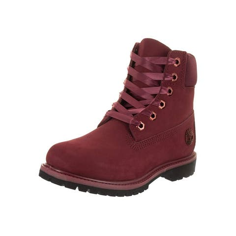 Timberland Womens Premium Waterproof Leather Closed Toe Ankle Working Boots