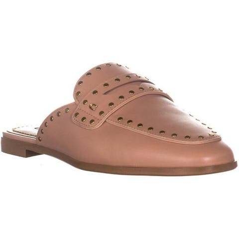 Coach Womens Fiona Lof sld ltr Leather Round Toe Loafers