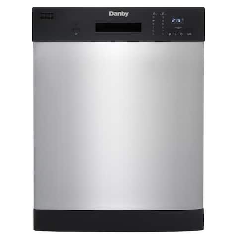 "Danby 24"" Stainless Full Size Dishwasher DDW2404EBSS"