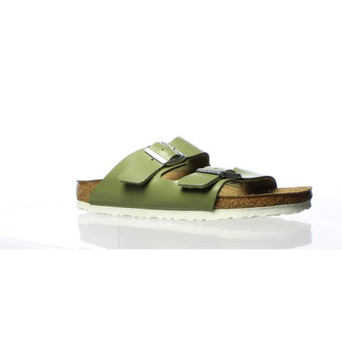 Birkenstock Womens Arizona Green Sandals EUR 40 (Narrow)