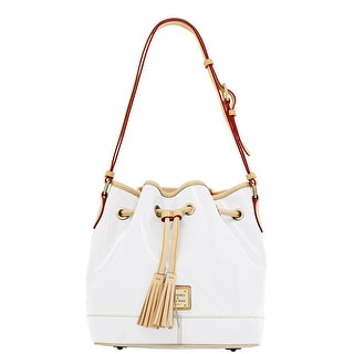 Dooney & Bourke Patent Drawstring (Introduced by Dooney & Bourke at $228 in Jan 2012) - White