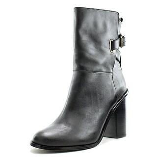 Kelsi Dagger Odem Women Round Toe Leather Bootie