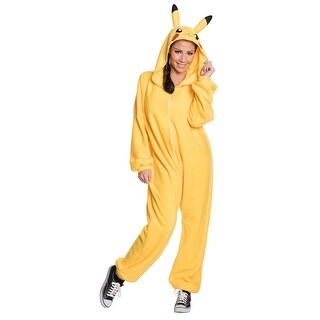 Adult Pikachu Jumpsuit Costume