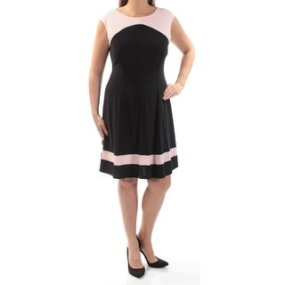 Link to AMERICAN DREAM Black Cap Sleeve Above The Knee Dress 4 Similar Items in Dresses