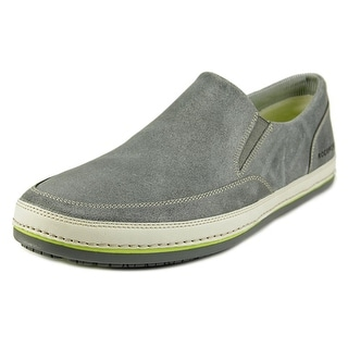 Rockport Harbor Point Slip On Men Round Toe Leather Sneakers