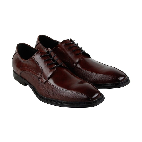 Kenneth Cole Reaction Design 20961 Mens Brown Casual Dress Oxfords Shoes