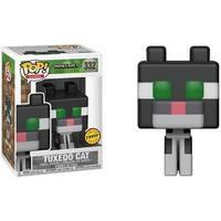 Minecraft Funko POP Vinyl Figure: Tuxedo Cat (Chase) - multi