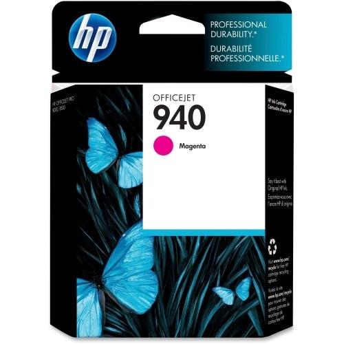 HP 940 Magenta Original Ink Cartridge (C4904AN) (Single Pack)