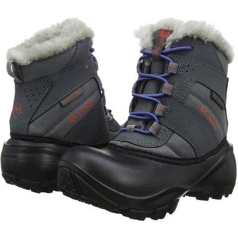 Columbia Kids' Childrens Rope Tow Iii Waterproof Snow Boot