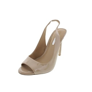 BCBGeneration Womens Pumps Patent Open Toe
