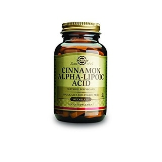 Solgar Cinnamon Alpha Lipoic Acid (60 Tablets)