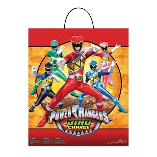 Disguise Power Ranger Dino Charge Essential Treat Bag - Red