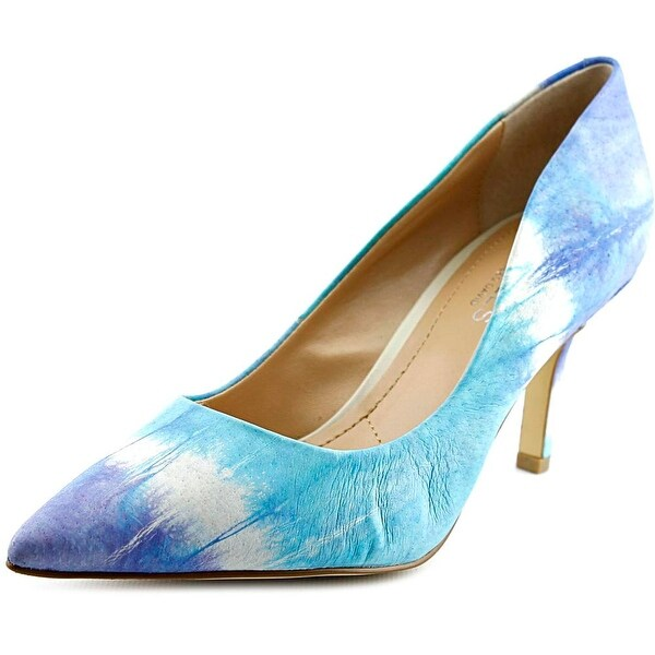 Charles By Charles David Sasha Women Pointed Toe Leather Heels