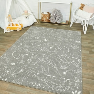 Link to Mod-Tod Parker Dinosaur Kids Rug Similar Items in Kids' Ottomans & Gliders