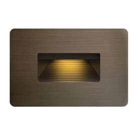 Hinkley Lighting 15508MZ 3.8w 2700K Cast Brass LED Step Light