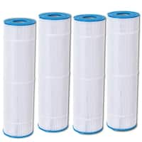 Costway 4 Pack Replacement Pool Filter Cartridge PCC105 Clean Clear FC-1977 C-7471