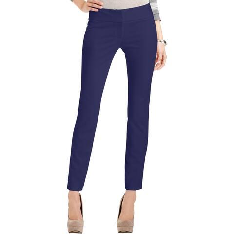Vince Camuto Womens Ponte Casual Trouser Pants, Blue, 2