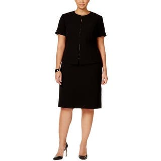Tahari ASL Womens Skirt Suit Solid Collarless - 16W|https://ak1.ostkcdn.com/images/products/is/images/direct/1d0f67bbd49d9f7d2f0d521883e5bce00fa092c9/Tahari-ASL-Womens-Skirt-Suit-Solid-Collarless.jpg?impolicy=medium