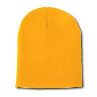 Short Beanie - Yellow